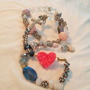 Crystal rhinestone wrap bracelet 💎💍